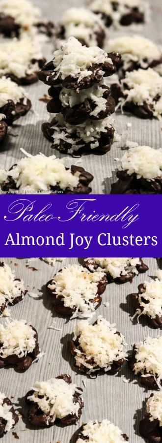 Paleo-Friendly Almond Joy Clusters | Only Taste Matters