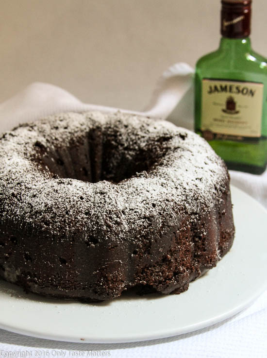 Chocolate Irish Whiskey Cake {Gluten Free}, Top Ten Recipes of 2016 | Only Taste Matters