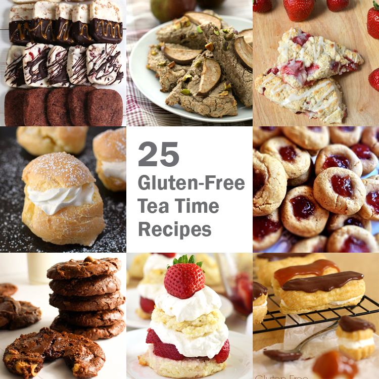 Gluten-Free Tea Time Recipes, Top Ten Recipes of 2016 | Only Taste Matters