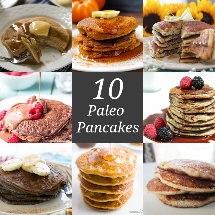 10 Paleo Pancakes | Only Taste Matters