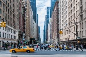 7th ave street view Manhattan NY