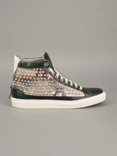 Giacomorelli Multi Stud High Top Sneaker [546.49] 1