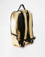 Sprayground Gold Brick Backpack 2