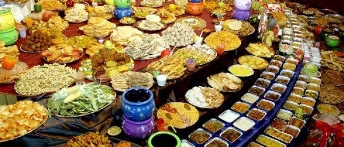 Разнообразие вегетарианских блюд