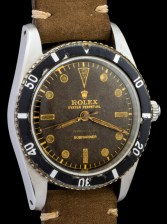 Rolex The Submariner 6204 retailed by Serpico y Laino 3