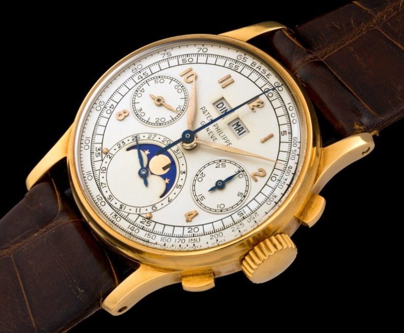 "Patek Philippe ""The yellow gold ref.1518"" 1"