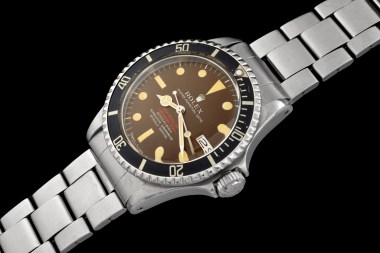 "Rolex ""The caramel brown Double Red Seadweller ref 1665"" 0"