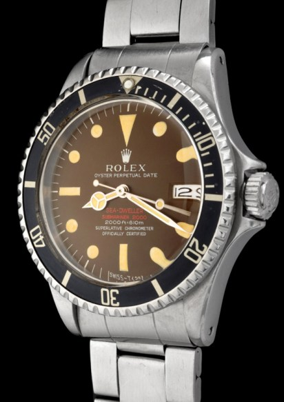 "Rolex ""The caramel brown Double Red Seadweller ref 1665"" 2"