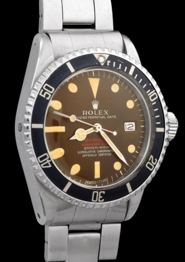 "Rolex ""The caramel brown Double Red Seadweller ref 1665"" 4"