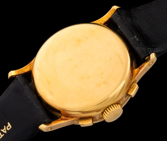 """Patek Philippe """"The yellow gold ref. 533 retailed by Hausmann"""" 5"""