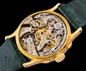 """Patek Philippe """"The yellow gold ref. 130 retailed by Walser Wald"""" 7"""