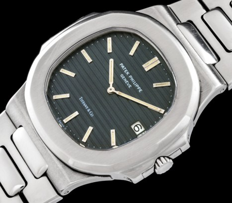 "Patek Philippe ""The Steel Nautilus ref 3700 retailed by Tiffany"" 1"