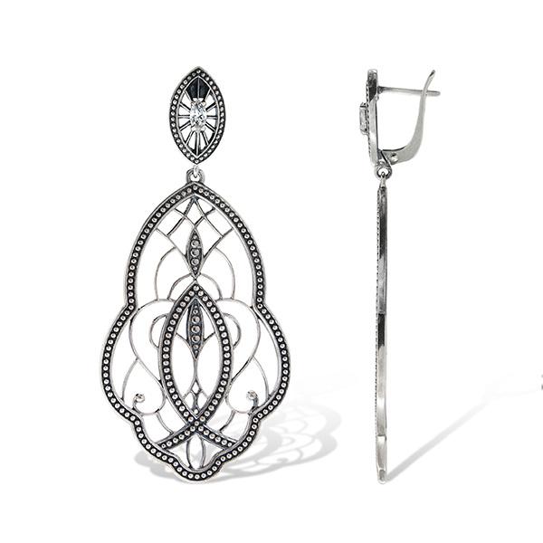 Divine Earrings Sterling Silver Onlyway Jewelry