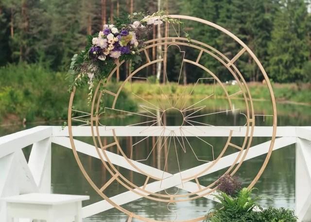 Арка на свадьбу Роза ветров