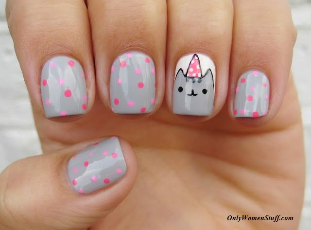 Emejing Cute Nail Designs To Do At Home Pictures Eddymerckx Us