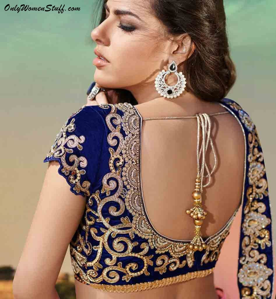 Saree Blouse Back Designs Latest Videos Blouse Designs Best Stunning Latest Saree Blouse Neck Designs Blouses Discover The Latest Best Selling Shop Women S Shirts High Quality