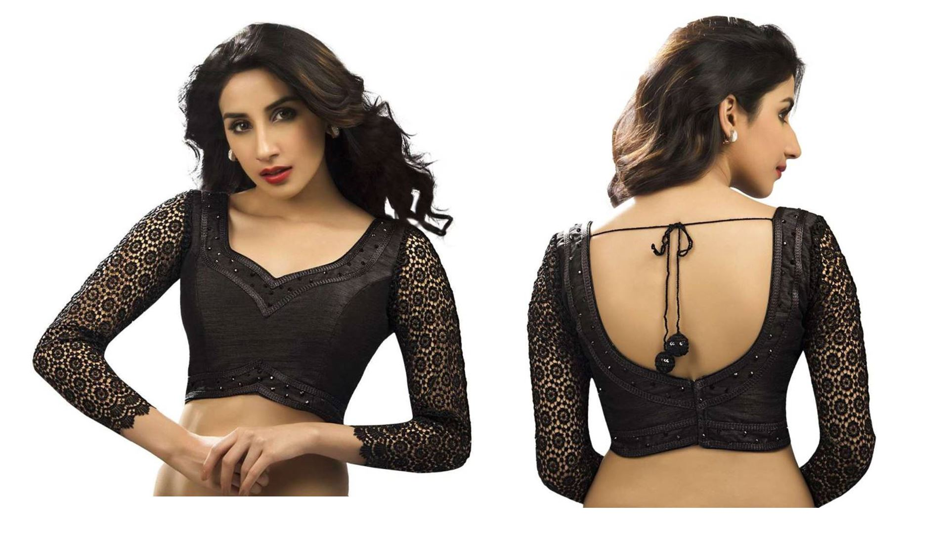 Nauvari Saree Blouse Back Designs 2017 25 Best Blouse Images Blouse Designs Saree Blouse Designs Indian Blouse Blouses Discover The Latest Best Selling Shop Women S Shirts High Quality