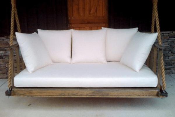 porch cushion swing