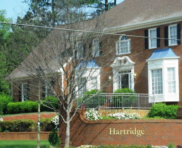 Home In Hartridge Johns Creek GA Subdivision