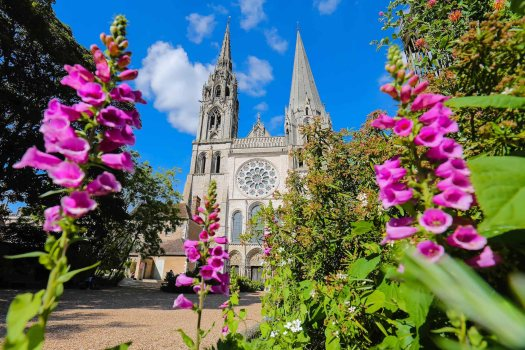 visiter de Chartres blog véloscénie