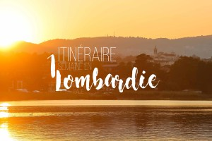 Lombardie itineraire