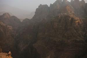 petra canyon