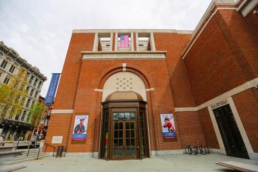 que faire à Philadelphie musée révolution américaine