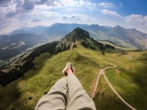 parapente montagne