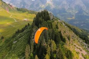 la parapente montagne