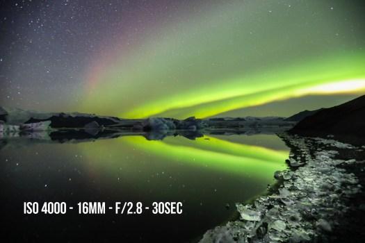 Comment prendre en photo les aurores boréales