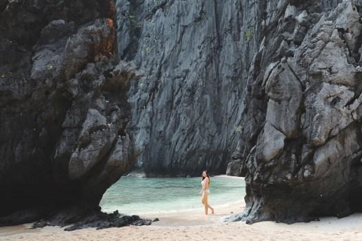 Plage près de Secret Beach à El Nido Palawan blog