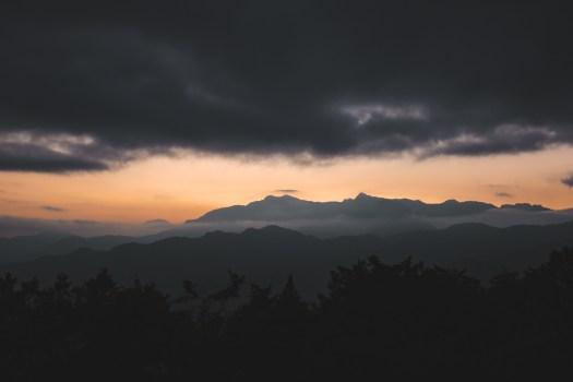 Sunrise Jade mountain Taïwan blog