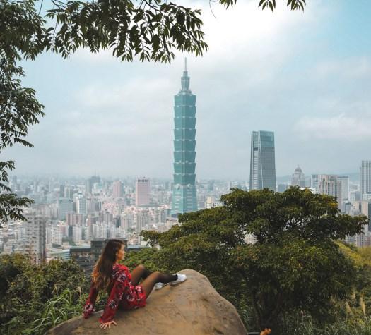 Elephant Mountain Taipei Taïwan blog