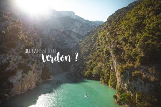 Vacances Ardèches - Que faire autour du Verdon dans le Haut Var ? | On met les voiles