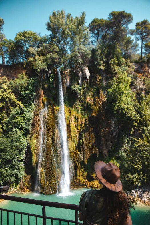 belvédère cascade Sillans la Cascade Var