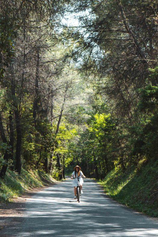 piste cyclable le long du Var