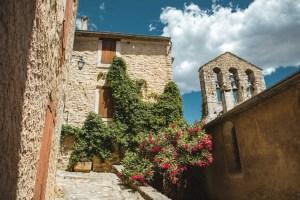 Lurs village Alpes de Haute Provence