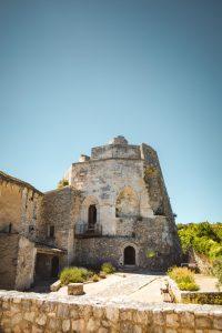 Simiane-la-Rotonde Alpes de Haute Provence village château