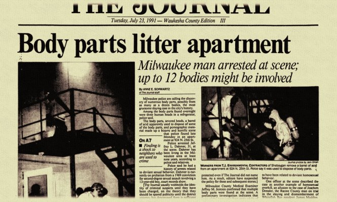 The Journal S Tuesday July 23 1991 Waukesha County Edition Paper With Headline Reading