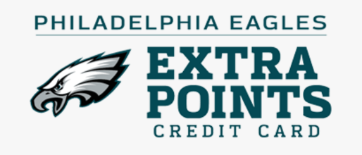 Philadelphia Eagles Extra Points Credit Card