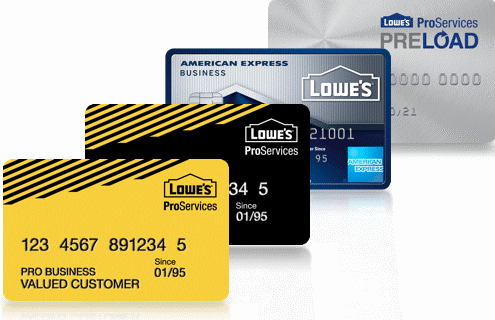 Lowes Credit Card Login