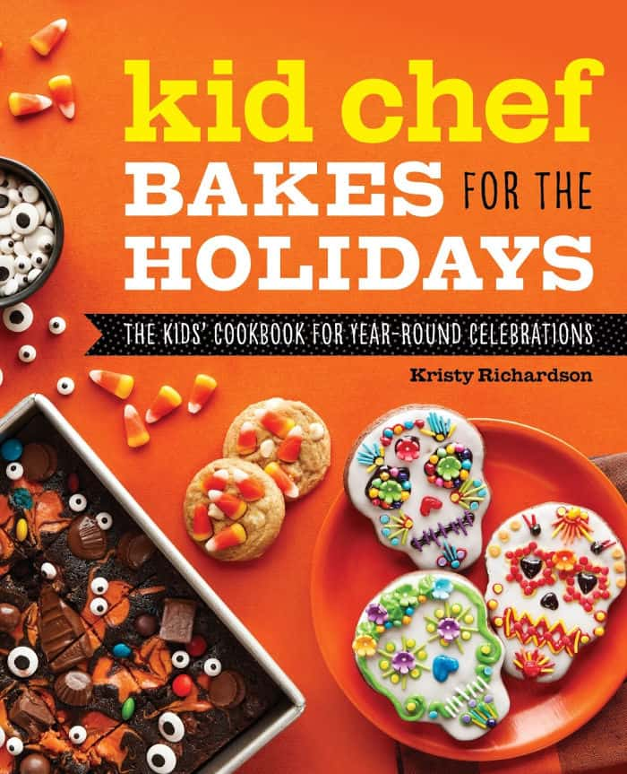 Kid Chef Bakes For The Holidays cookbook cover