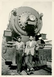 Young locomotive engineer Arturo Molinar would invite Ozzie for taquitos at a small stand near the Mission of Guadalupe, not far from the rail yard.