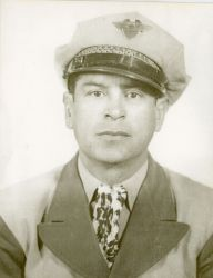 Ozzie's father, Ranulfo, in his Buses of Mexico uniform