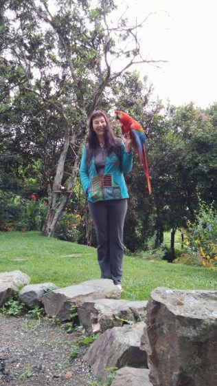 My shaman, Felicia, from Austria.