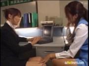 美人OL達が残業中にレズキスのrezu動画