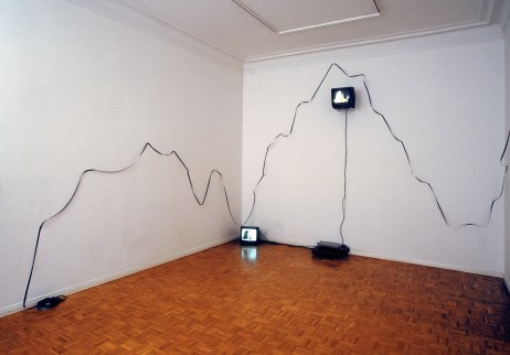 Path to the Quays House, Installation, installation view: Star Dweller, Hippolyte gallery, Helsinki, Finland, 2000