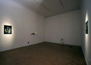 Star Dweller, installation view to the 2th room : Hippolyte gallery, Helsinki, Finland, 2000