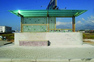 Bus Station in Albania. Image by: Co-Plan