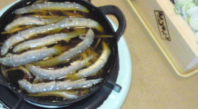 町屋「どじょっこ」のドジョウ、川魚料理
